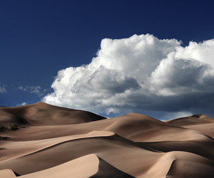 desert, nature, and sky image