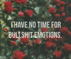 emotions, rose, and bullshit image