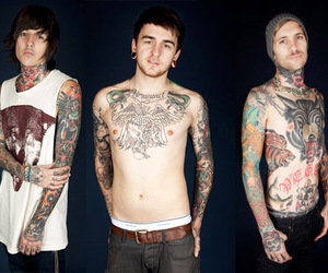 bmth, tattoo, and bring me the horizon image