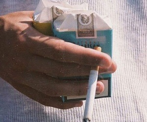 cigarette, smoke, and tumblr image