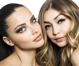 Adriana Lima, model, and gigi hadid image
