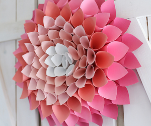decoration, diy, and flower image