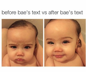baby, bae, and funny image