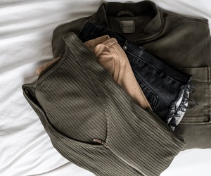 beige, black, and fashion image