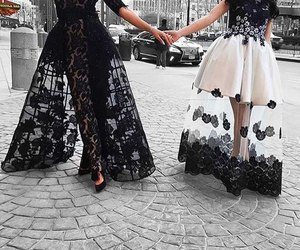 dress, fashion, and love image