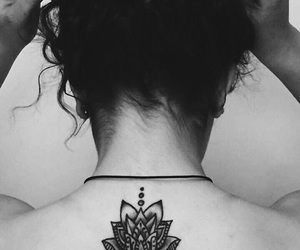 black, unconditionally, and flower image