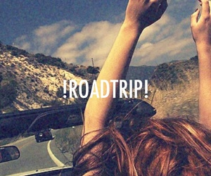 roadtrip, friends, and free image