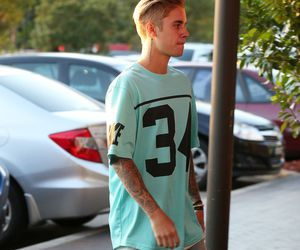 justin bieber, tattoo, and swag image