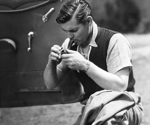 clark gable, classic hollywood, and old hollywood image