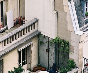 balcony, architecture, and garden image