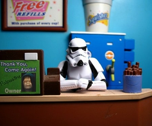 funny, star wars, and storm trooper image