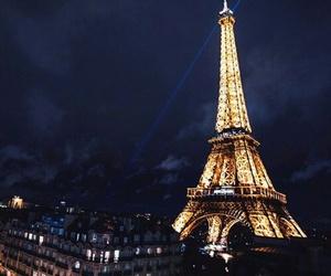 paris, blue, and light image