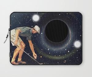 black, laptop sleeve, and hole image