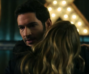 lucifer morningstar, chloe decker, and lucifer image