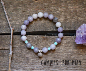 bracelets, crystal jewelry, and crystals image