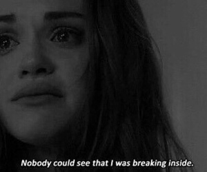 teen wolf, sad, and quotes image