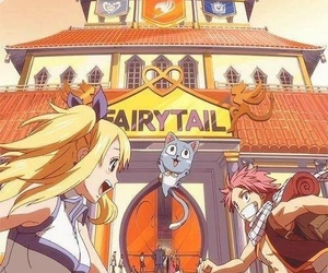 happy, fairytail, and Lucy image