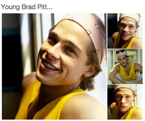 actor, brad, and brad pitt image