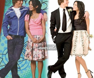 high school musical, gabriella montez, and troy bolton image