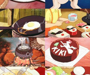 food and studio ghibli image