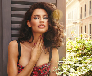 Bianca Balti, model, and red image