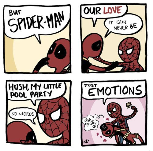 deadpool, tumblr, and funny image