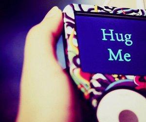 hug, ipod, and hug me image