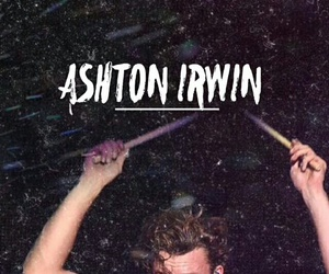 5sos and ashton irwin image