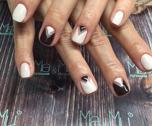 nails, gelish, and ma&mi image