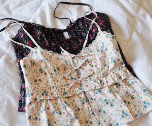 fashion, shirt, and floral image