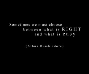 quote, harry potter, and albus dumbledore image
