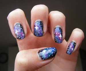 nails, galaxy, and stars image