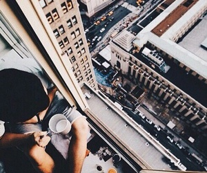 city, coffee, and vogue image