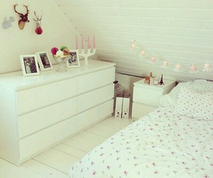 decor, girly, and room image