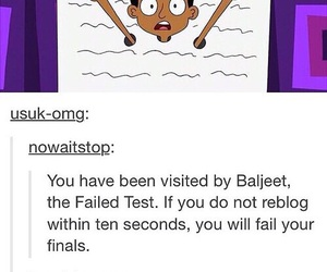 funny and finals image