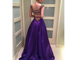 backless, party, and Prom image