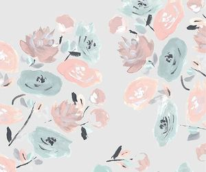 flowers, iphone, and pattern image