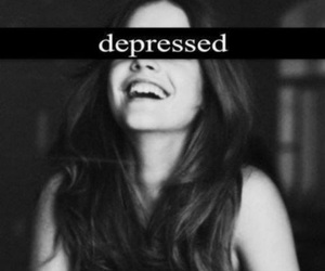 depressed, smile, and sad image