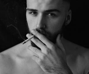 boy, tattoo, and beard image