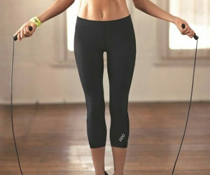 fitness, healthy, and rope image