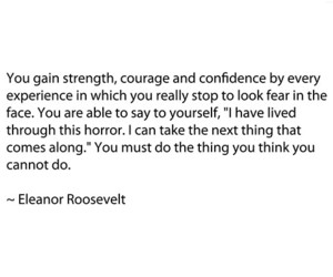 life, courage, and quote image