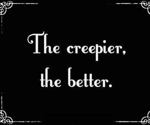 creepy, quotes, and goth image