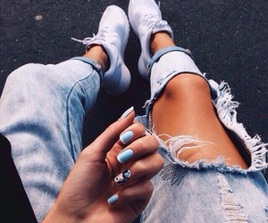 fashion, girl, and nails image