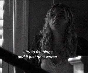 pretty little liars, pll, and quotes image