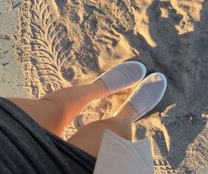 2016, beach, and shoes image