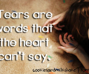 tears and words image