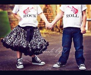 rock, kids, and boy image