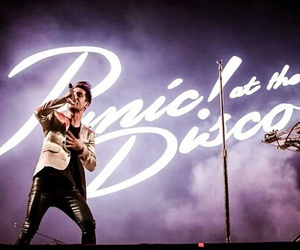 brendon urie, music, and panic! at the disco image