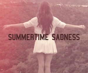 lana del rey, summertime sadness, and summer image