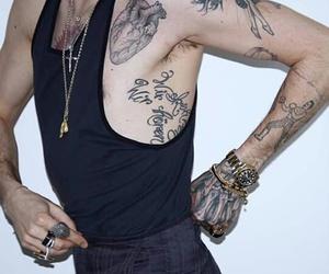 aliens, bill kaulitz, and tattoo image